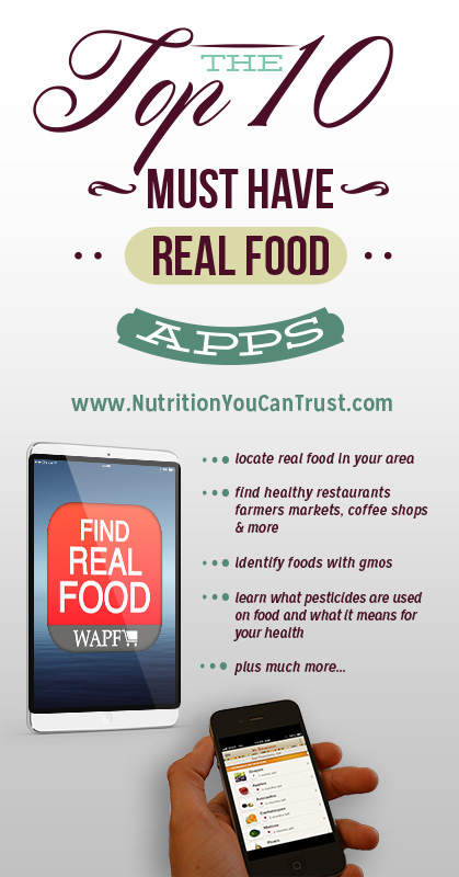 Top 10 Real Food Apps - Pinterest