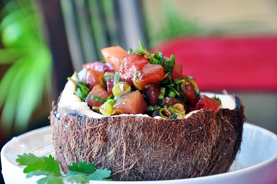 Ahi Poke Coconut | Nutrition You Can Trust