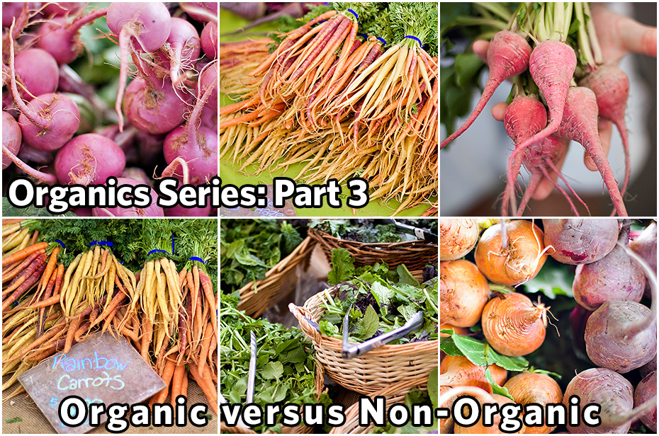 Organics Series, Part 3: Non-Organic vs. Organic