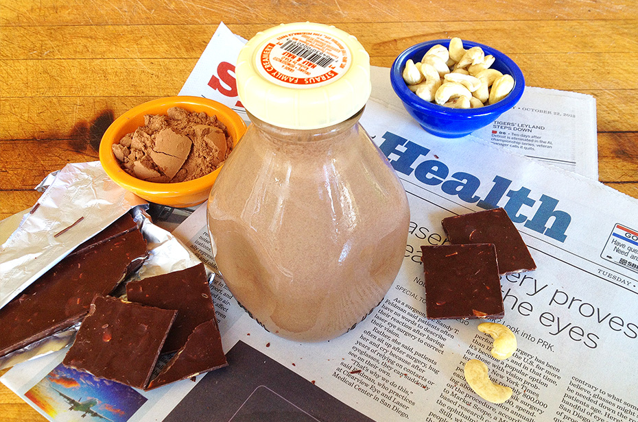 Paleo Chocolate Milk