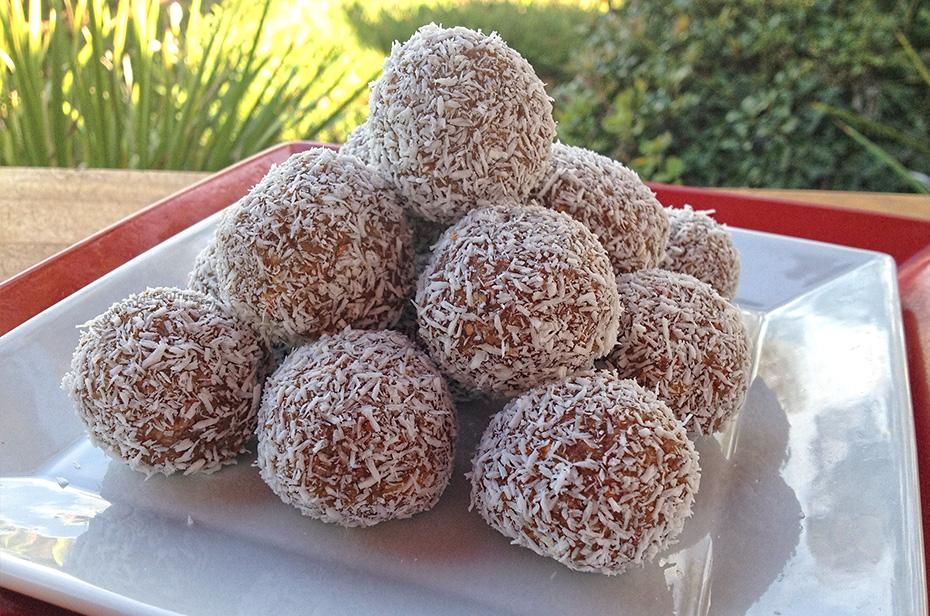 Raw Winter Spiced Snowballs Recipe