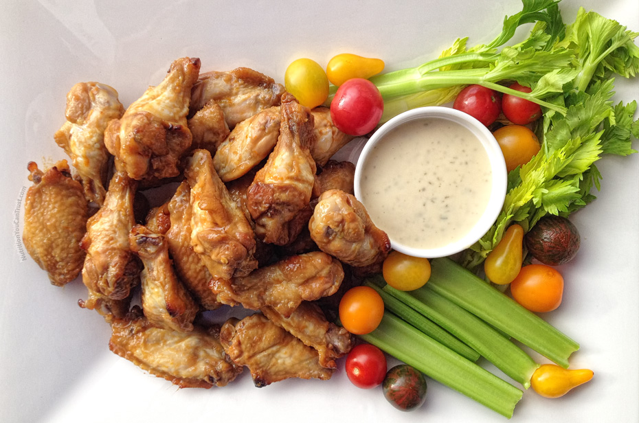 Maple Sesame Buffalo Wings Recipe