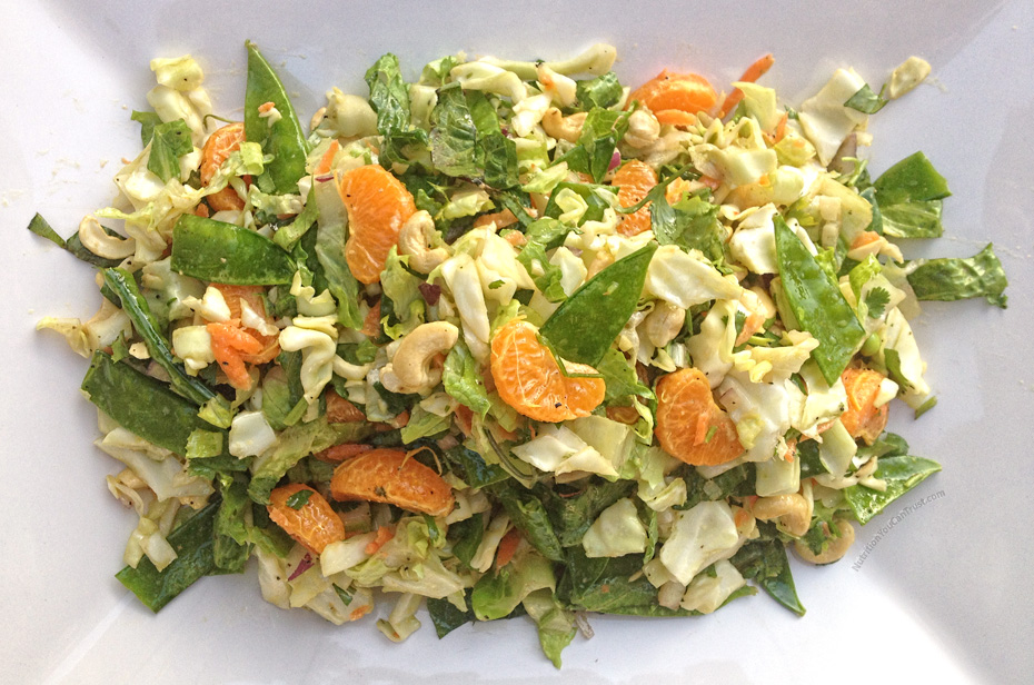Asian Chopped Salad Recipe