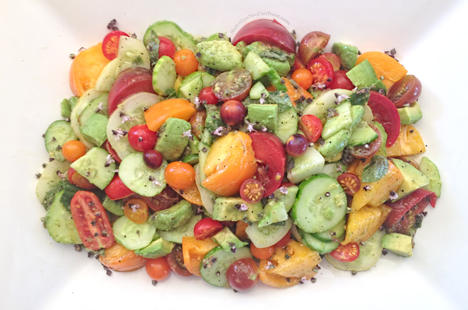 Fresh Summer Tomato Salad Recipe
