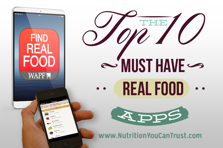 Top 10 Real Food Apps