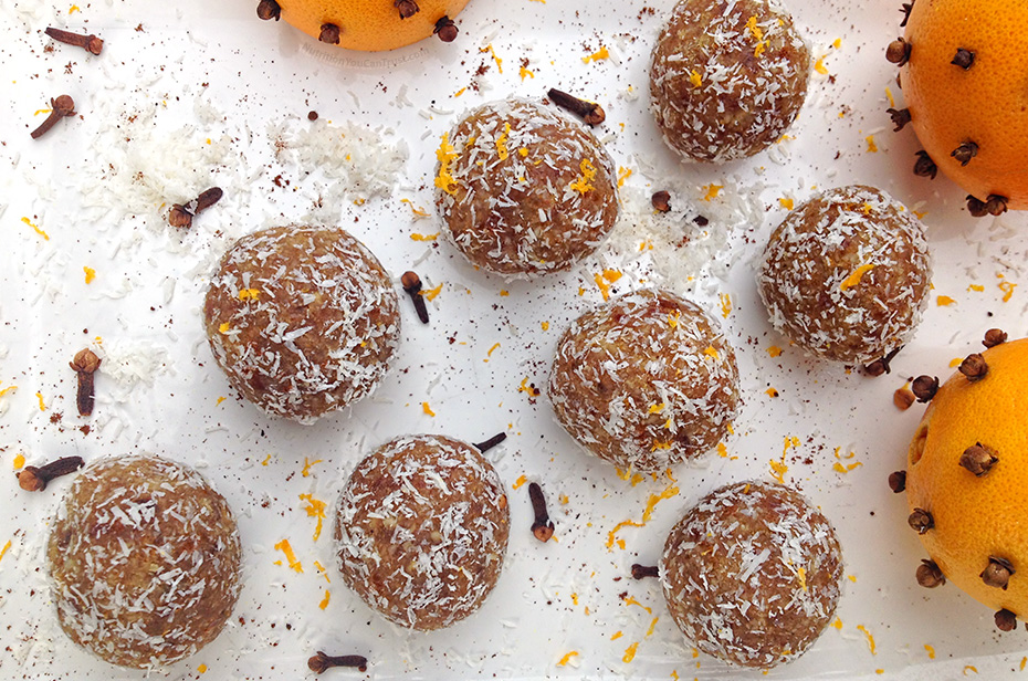 Orange & Clove Pomander Cookies - Aerial