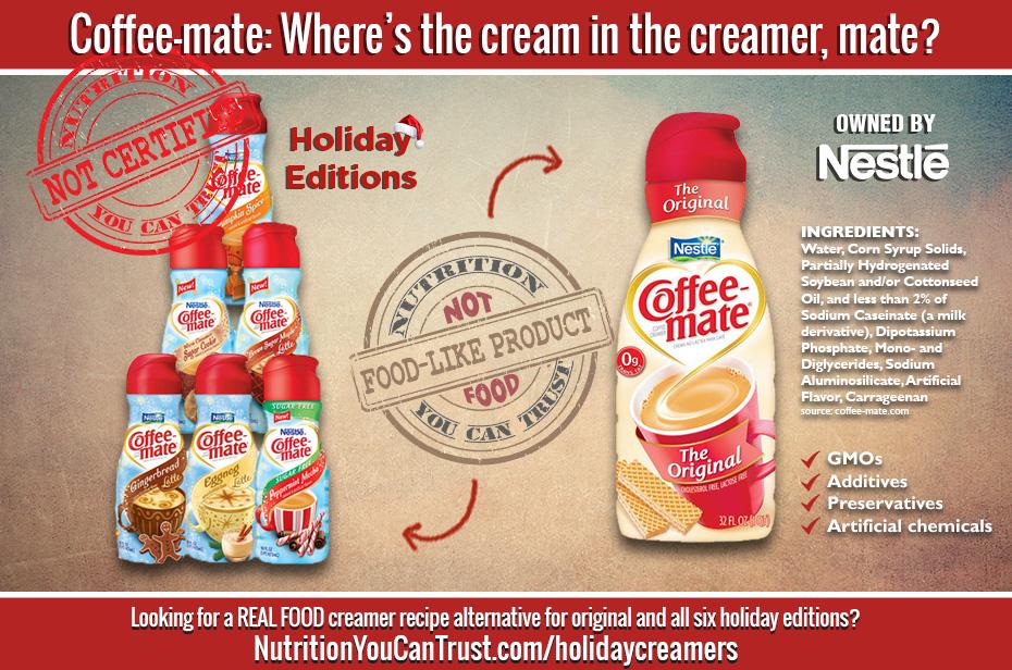 Coffee-mate - Where's the cream in the creamer