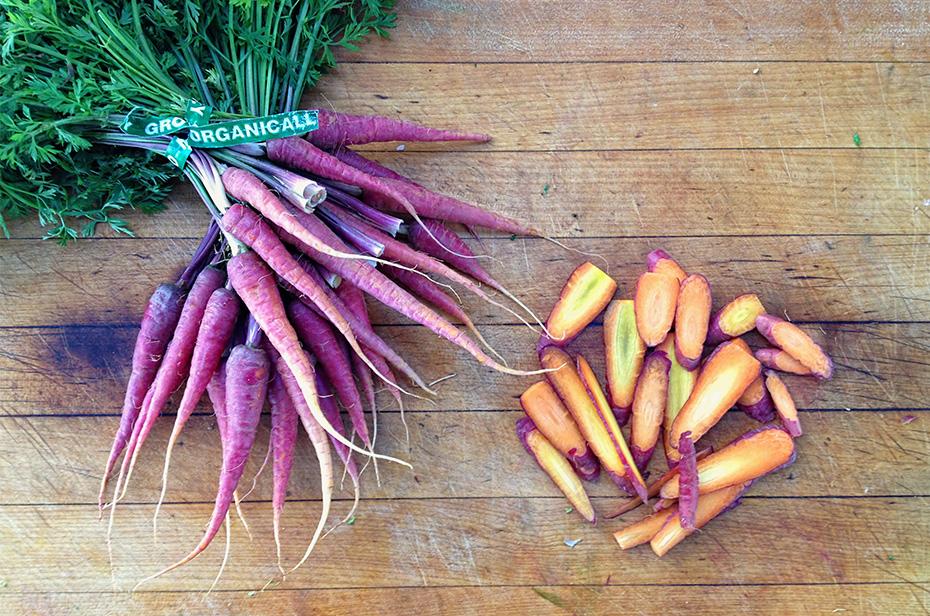 Veggie Fajitas with Cilantro Lime Caulirice - Local Carrots
