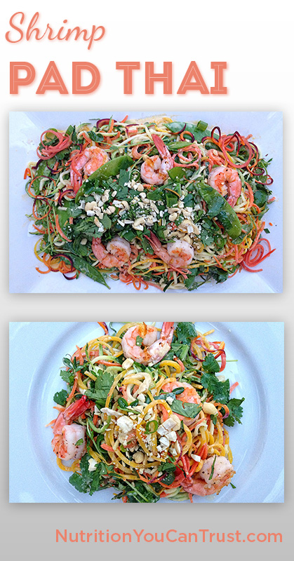 Shrimp Pad Thai - Pin