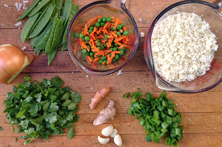 Masala Caulirice - Ingredients