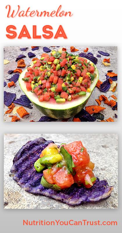 Watermelon Summer Salsa - Pinterest