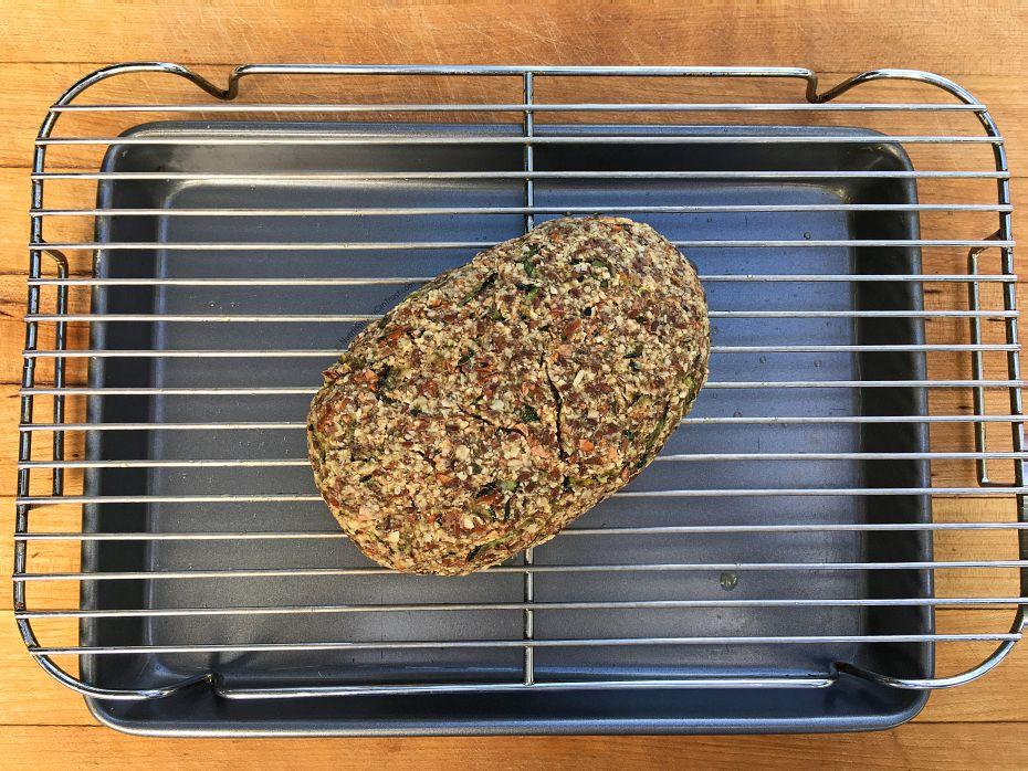 Raw Zucchini Bread - sequencing